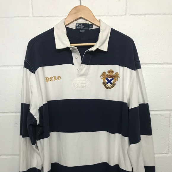 33725726c15 Vintage Polo Ralph Lauren old English rugby xxl. M_5a38816d2ab8c5376e00a588